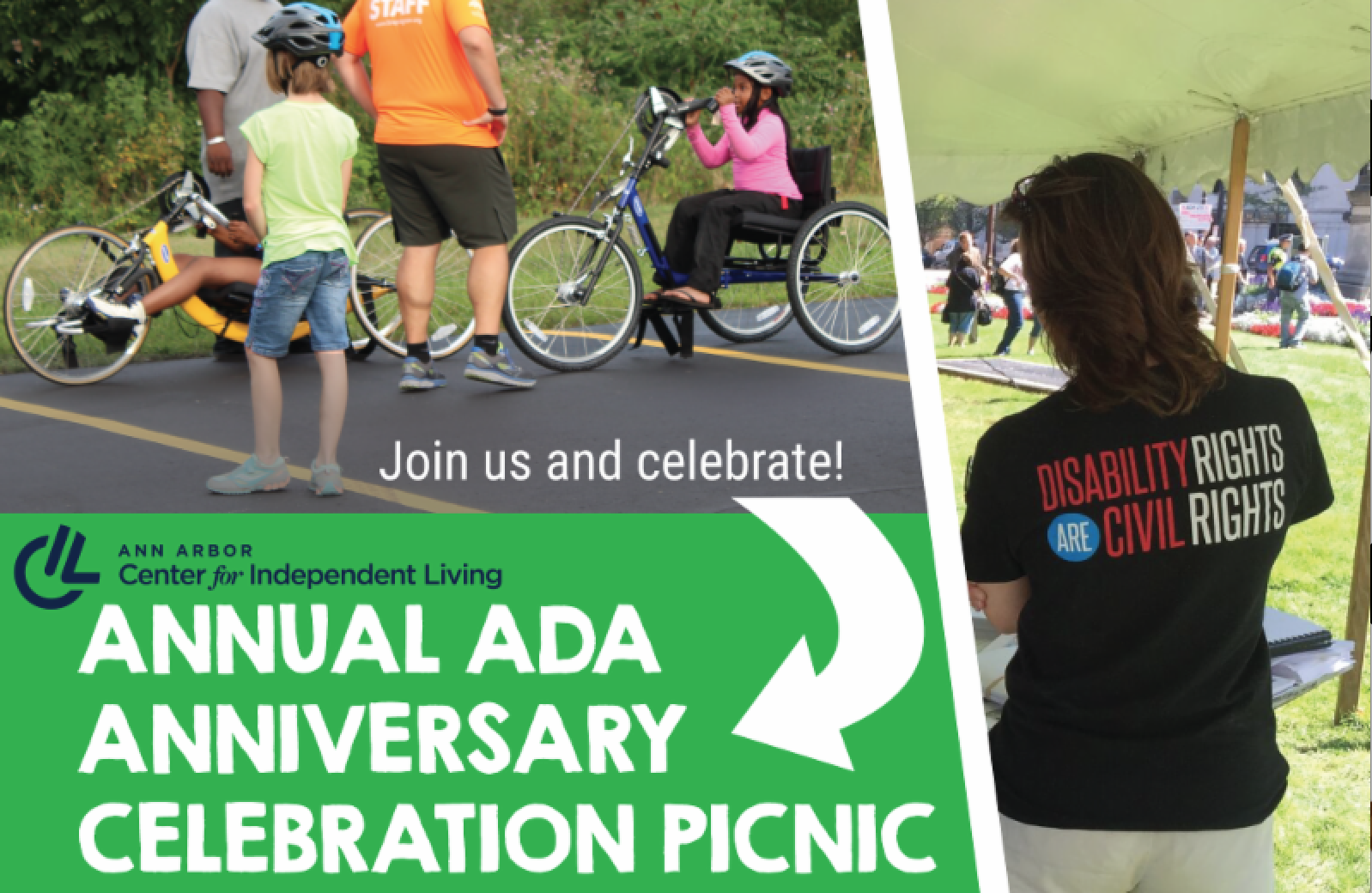 Sunny or Rain! Join us today for the Annual Summer Picnic