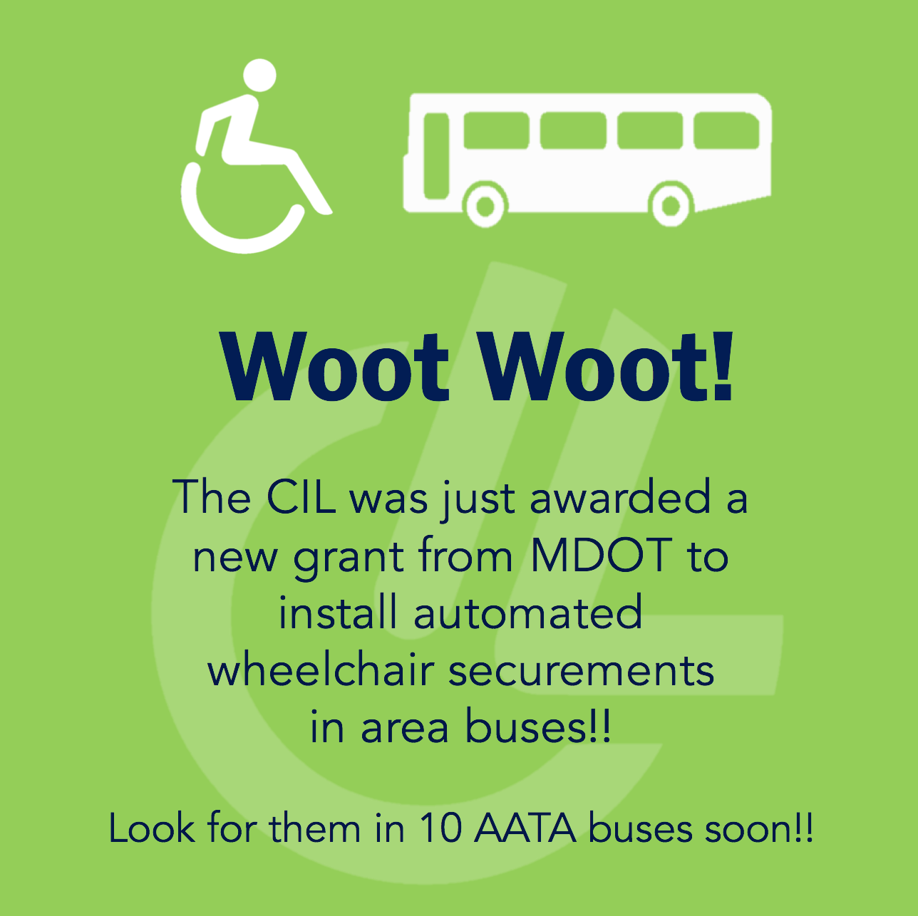 Look for automated wheelchair securements on buses soon!