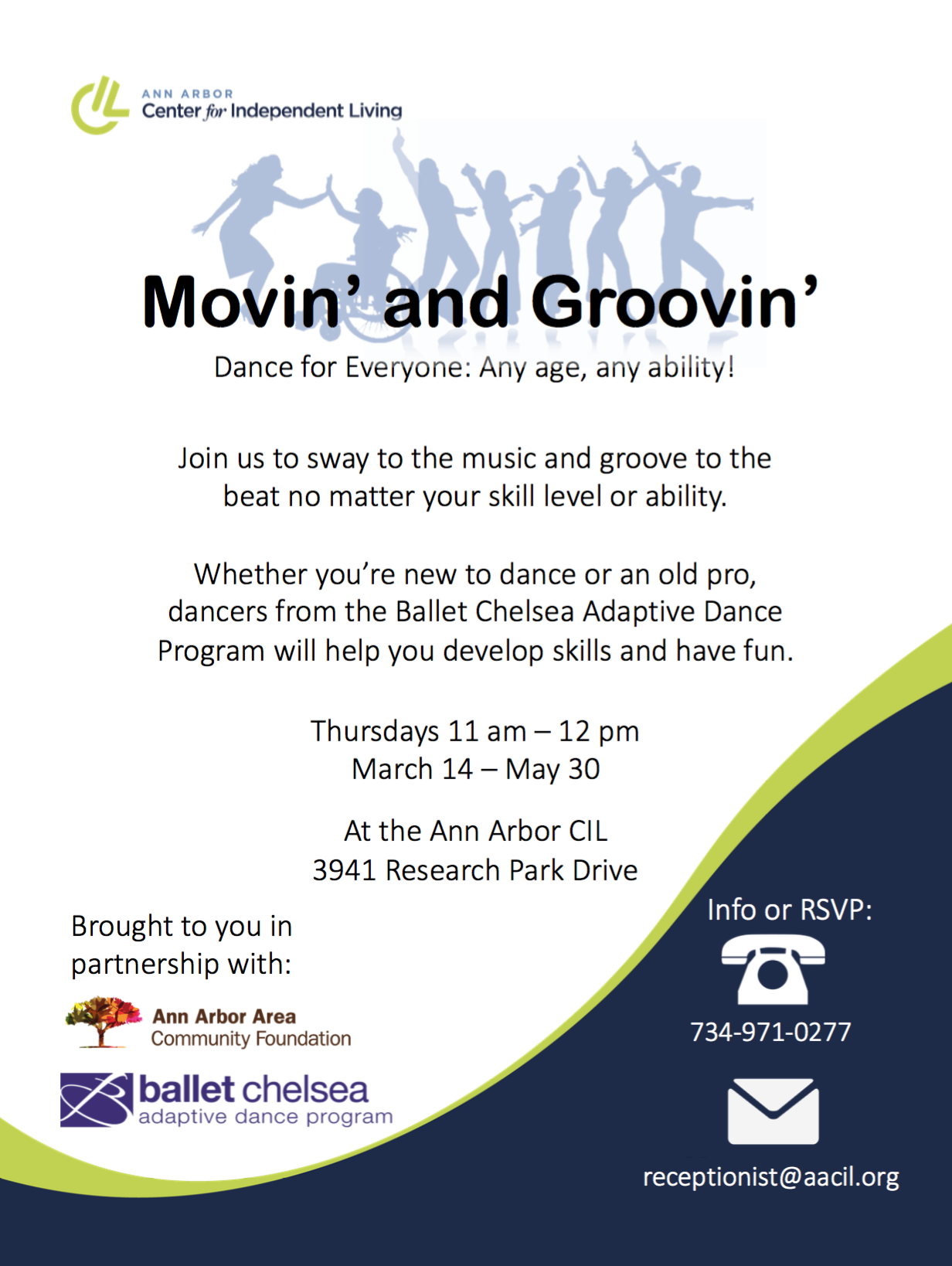 Movin' and Groovin' Program Brings Adaptive Dance