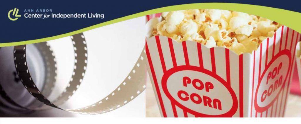 popcorn tub and filmstrip images
