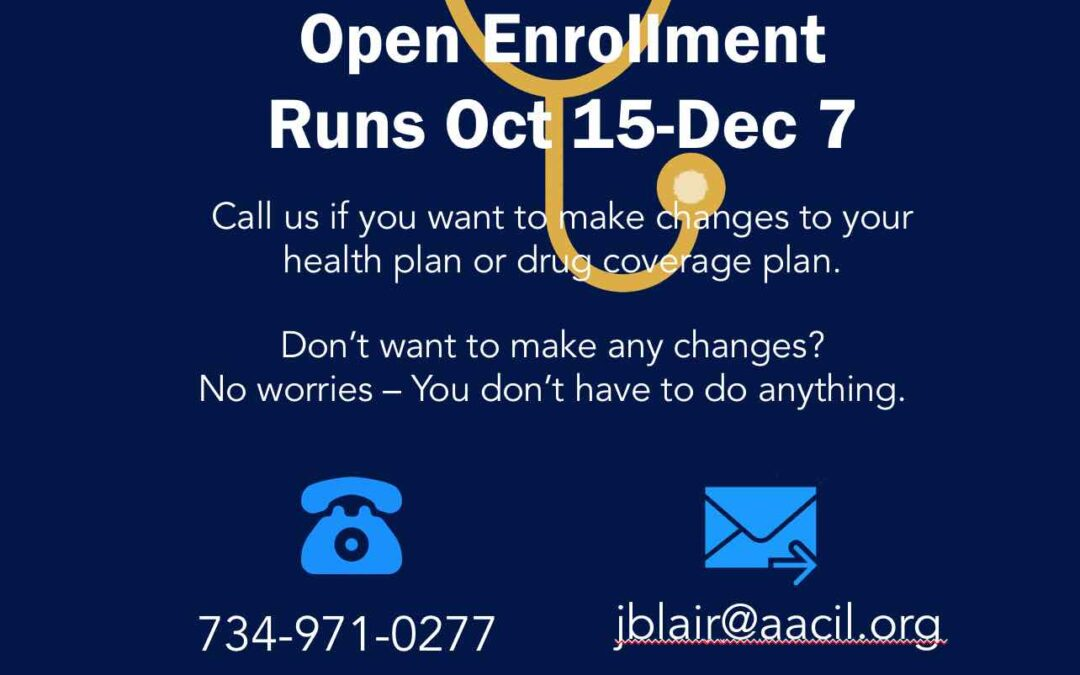 Need help with Medicare Open Enrollment?