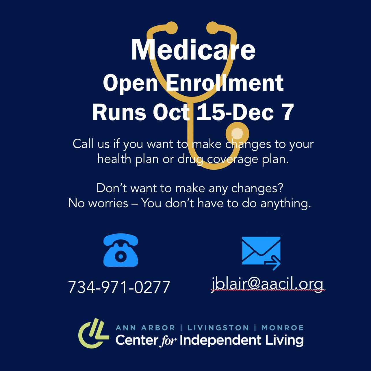 Medicare enrollment counseling graphic