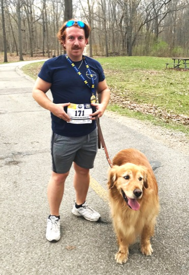 mark hymes and service dog bogey